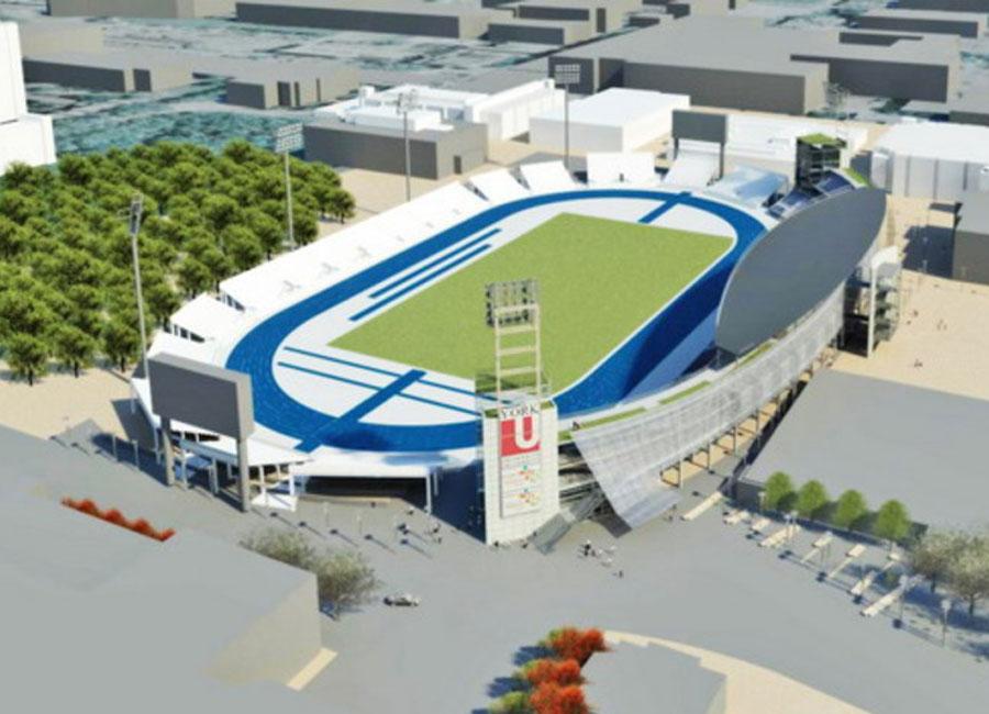 Athletic Field, York University
